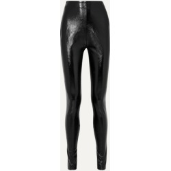 Stand Studio - + Pernille Teisbaek Tabitha Faux Leather Skinny Pants - Black