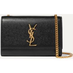SAINT LAURENT - Monogramme Kate Small Textured-leather Shoulder Bag - Black found on Bargain Bro UK from NET-A-PORTER UK