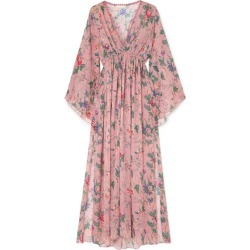 Anjuna - Renata Floral-print Gauze Maxi Dress - Baby pink found on MODAPINS from NET-A-PORTER for USD $800.00