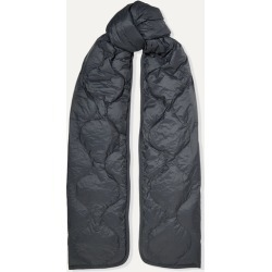 Isabel Marant - Bremon Quilted Shell Scarf - Charcoal found on Bargain Bro Philippines from NET-A-PORTER for $161.00