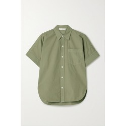 Alex Mill - Charlie Cotton-poplin Shirt - Army green found on MODAPINS from NET-A-PORTER for USD $110.00