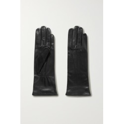 Agnelle - Grace Leather Gloves - Black found on MODAPINS from NET-A-PORTER UK for USD $150.30
