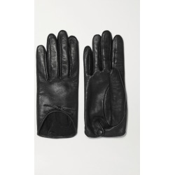 Agnelle - Josie Bow-embellished Leather Gloves - Black found on MODAPINS from NET-A-PORTER UK for USD $150.02