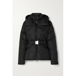 Moncler - Aloes Hooded Belted Quilted Shell Down Jacket - Black found on Bargain Bro UK from NET-A-PORTER UK