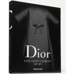 Assouline - Dior By Yves Saint Laurent 1958-1960 By Laurence Benaïm Hardcover Book - Black found on MODAPINS from NET-A-PORTER for USD $195.00