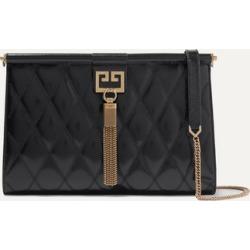 Givenchy - Gem Medium Quilted Glossed-leather Shoulder Bag - Black found on Bargain Bro UK from NET-A-PORTER UK