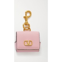 Valentino - Textured-leather Airpods Case - Baby pink found on Bargain Bro UK from NET-A-PORTER UK