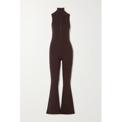 Prada - Ribbed Wool-blend Jumpsuit - Brown found on Bargain Bro UK from NET-A-PORTER UK