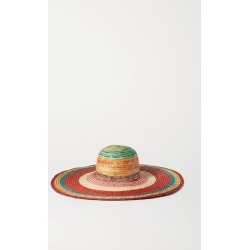 Missoni - Striped Straw Sunhat - Red found on Bargain Bro UK from NET-A-PORTER UK