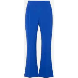 Antonio Berardi - Cropped Stretch-cady Flared Pants - Blue found on MODAPINS from NET-A-PORTER for USD $248.00