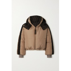 Fendi - Oversized Reversible Quilted Printed Shell Down Jacket - Beige found on Bargain Bro Philippines from NET-A-PORTER for $2690.00