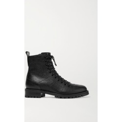 Jimmy Choo - Cruz Textured-leather Ankle Boots - Black found on Bargain Bro UK from NET-A-PORTER UK
