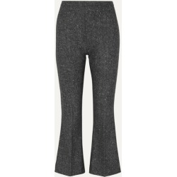 Antonio Berardi - Cropped Wool-tweed Flared Pants - Gray found on MODAPINS from NET-A-PORTER UK for USD $542.54
