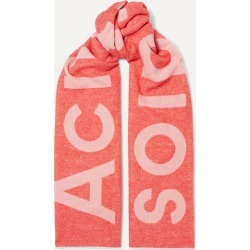 Acne Studios - Intarsia Wool-blend Scarf - Pink found on Bargain Bro UK from NET-A-PORTER UK