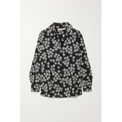 ALEXACHUNG - After Hours Floral-print Crepe Shirt - Black found on Bargain Bro India from NET-A-PORTER for $320.00
