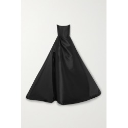 Alex Perry - Denver Strapless Satin Gown - Black found on MODAPINS from NET-A-PORTER UK for USD $4735.99