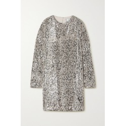 In The Mood For Love - Alexandra Sequined Stretch-tulle Dress - Silver found on Bargain Bro UK from NET-A-PORTER UK