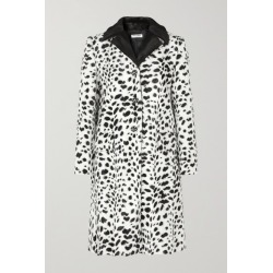 Miu Miu - Crystal-embellished Animal-print Faux Fur Coat - Ivory found on MODAPINS from NET-A-PORTER UK for USD $3193.87