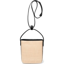 TL-180 - Saigon Woven Raffia And Leather Shoulder Bag - Beige found on MODAPINS from NET-A-PORTER UK for USD $381.21