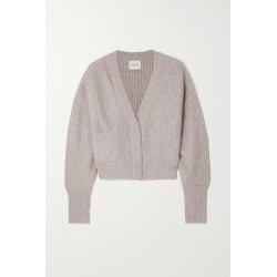 Le Kasha - Monaco Ribbed Cashmere Cardigan - Light brown found on MODAPINS from NET-A-PORTER for USD $845.00