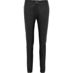 Bassike - Leather Skinny Pants - Black found on MODAPINS from NET-A-PORTER for USD $1595.00