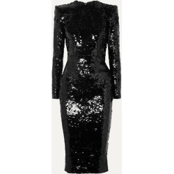 Alex Perry - Sequined Crepe Dress - Black found on MODAPINS from NET-A-PORTER UK for USD $1587.11