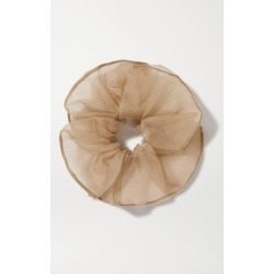 Sophie Buhai - Silk-organza Scrunchie - Taupe found on Makeup Collection from NET-A-PORTER UK for GBP 194.56