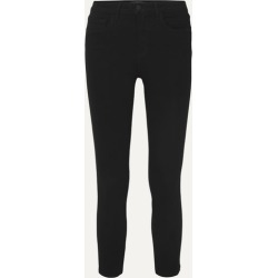 L'Agence - Margot Cropped High-rise Skinny Jeans - Black found on Bargain Bro UK from NET-A-PORTER UK