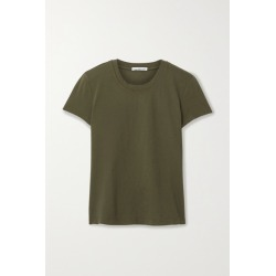 James Perse - Vintage Boy Cotton-jersey T-shirt - Army green found on Bargain Bro India from NET-A-PORTER for $75.00