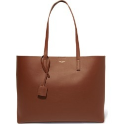 SAINT LAURENT - Shopper Leather Tote - Tan found on MODAPINS from NET-A-PORTER UK for USD $870.44