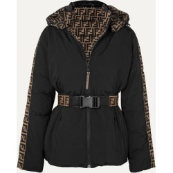 Fendi - Reversible Belted Printed Ski Jacket - Black found on Bargain Bro Philippines from NET-A-PORTER for $2590.00