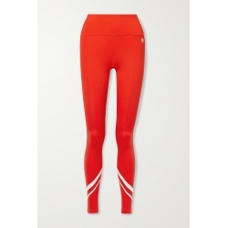 TORY SPORT - Printed Stretch-jersey Leggings - Red found on Bargain Bro from NET-A-PORTER for USD $97.28