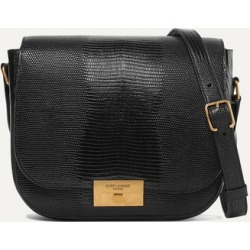 SAINT LAURENT - Betty Lizard-effect Leather Shoulder Bag - Black found on MODAPINS from NET-A-PORTER UK for USD $1842.54