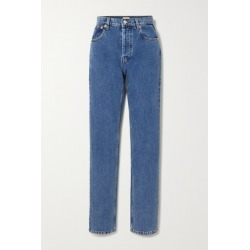 Magda Butrym - High-rise Slim-leg Jeans - Blue found on MODAPINS from NET-A-PORTER UK for USD $415.98