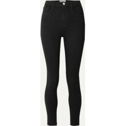 FRAME - Ali High-rise Skinny Jeans - Black found on Bargain Bro UK from NET-A-PORTER UK