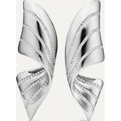 G by Glenn Spiro - Ribbon Titanium Diamond Earrings - Silver found on Bargain Bro Philippines from NET-A-PORTER for $14500.00