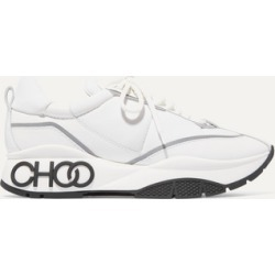 Jimmy Choo - Raine Leather And Neoprene Sneakers - White found on Bargain Bro UK from NET-A-PORTER UK