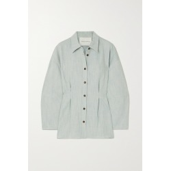 KING & TUCKFIELD - Cotton And Linen-blend Shirt - Blue found on Bargain Bro India from NET-A-PORTER for $315.00