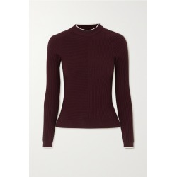 VAARA - Filipa Trueknit Ribbed Wool-blend Top - Purple found on Bargain Bro from NET-A-PORTER for USD $326.80