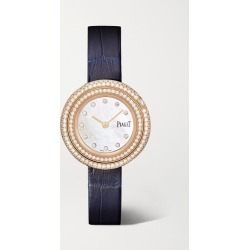 Piaget - Possession 29mm 18-karat Rose Gold, Alligator And Diamond Watch - one size found on MODAPINS from NET-A-PORTER UK for USD $25273.64