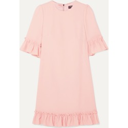 Dolce & Gabbana - Ruffled Cady Mini Dress - Pink found on Bargain Bro India from NET-A-PORTER for $718.00