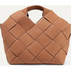 Loewe - Woven Textured-leather Tote - Brown found on Bargain Bro UK from NET-A-PORTER UK