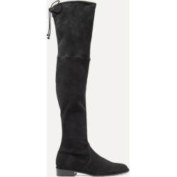 Stuart Weitzman - Lowland Suede Over-the-knee Boots - Black found on Bargain Bro UK from NET-A-PORTER UK