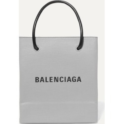 Balenciaga - Xxs Printed Textured-leather Tote - Gray found on Bargain Bro UK from NET-A-PORTER UK