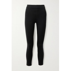 Spanx - Stretch-ponte Skinny Pants - Black