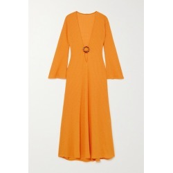 Dodo Bar Or - Junna Embellished Cutout Ribbed-knit Maxi Dress - Orange found on MODAPINS from NET-A-PORTER UK for USD $471.81
