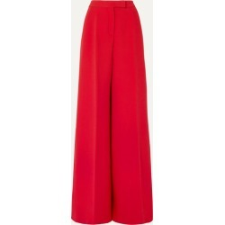 Antonio Berardi - Wool-blend Crepe Wide-leg Pants - Red found on MODAPINS from NET-A-PORTER for USD $655.00