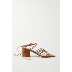 Porte & Paire - Woven Leather Sandals - Tan found on Bargain Bro Philippines from NET-A-PORTER for $140.00