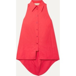 Antonio Berardi - Cotton-poplin Shirt - Red found on MODAPINS from NET-A-PORTER for USD $450.00