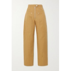 Isabel Marant Étoile - Phil Cotton And Linen-blend Tapered Pants - Camel found on Bargain Bro UK from NET-A-PORTER UK